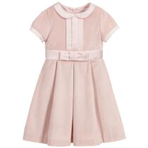 Patachou Pink Bow Front Dress