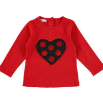iDo Sequined Heart T-Shirt v81500