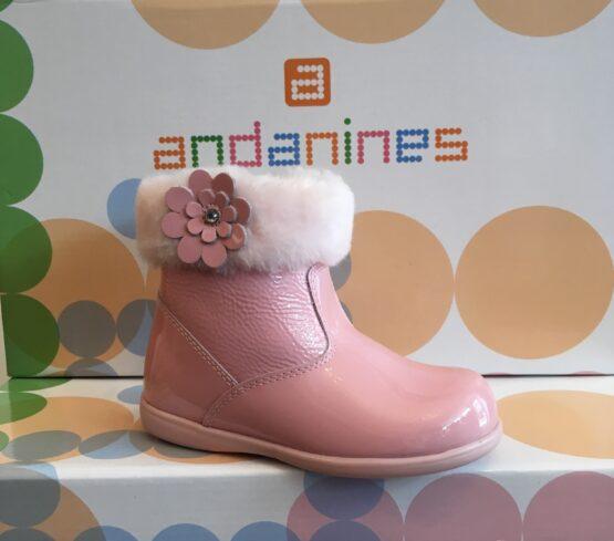 Andanine Pink Boot 182843