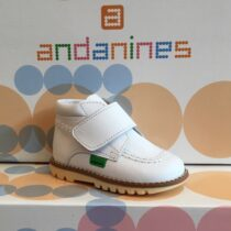 Andanine White Boot 152456