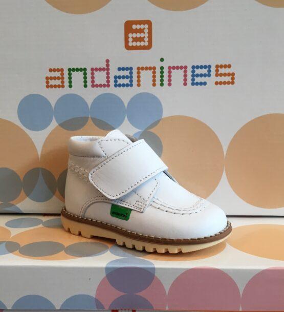 Andanine White Boot 152456