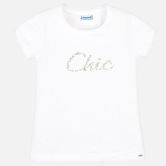Mayoral Short Sleeved Basic Chic T-Shirt 854