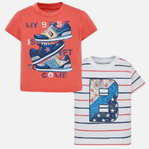 Mayoral Short Sleeved T-shirt Set 1022