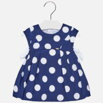 Mayoral Polka Dot Dress with Bows 1930