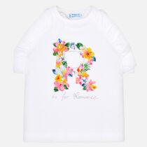 Mayoral Sleeveless Flowers T-Shirt 3020