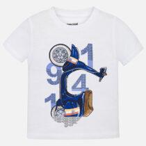 Mayoral Short Sleeved Printed T-Shirt 3045
