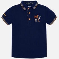 Mayoral Short Sleeve Logo Polo Shirt 3115