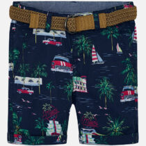 Mayoral Patterned Bermuda Shorts 3235