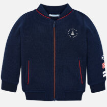 Mayoral Fleece Jacket with Flags Design 3426