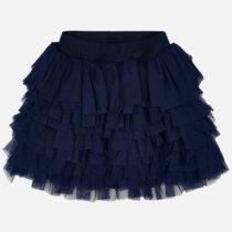 Mayoral Asymmetric Ruffle Skirt 3903