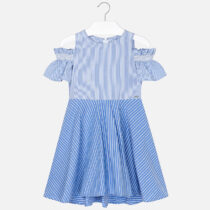 Mayoral Combined Striped Dress 6936