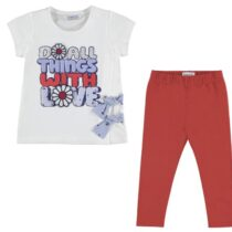 Mayoral Girls T-Shirt and Leggings Set 3703