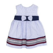 Tutto Piccolo Navy Stripe Dress
