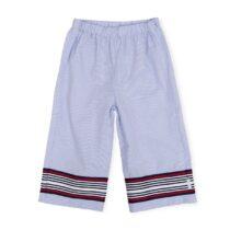 Tutto Piccolo Navy Stripe Trousers