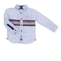 Tutto Piccolo Navy Stripe Shirt