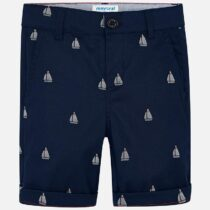 Mayoral Patterned Bermuda Chino Shorts 3227