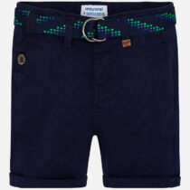 Mayoral Pique Bermuda Shorts with Belt 3232