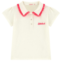 Billieblush Frill Collar Polo Shirt