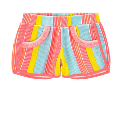 Billieblush Multicoloured Striped Shorts