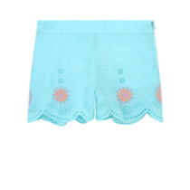 Billieblush Woven Flower Shorts