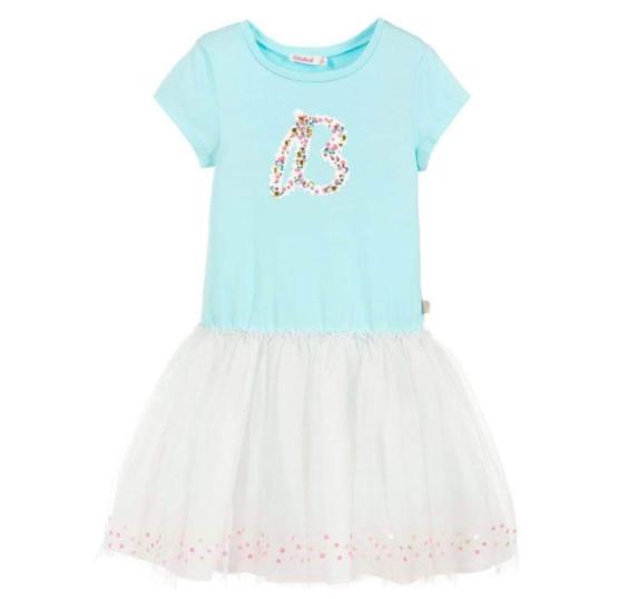 Billieblush B Sequin Print Tutu Dress