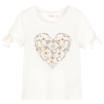 Billieblush Sequin Heart T-Shirt