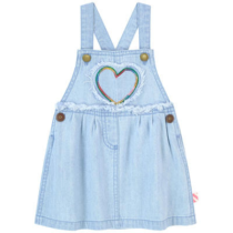 Billieblush Heart Denim Dress