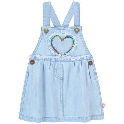 Billieblush Heart Denim Dress