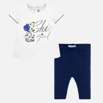 Mayoral Chic Girl Legging and T-Shirt Set 1745