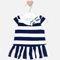 Mayoral Low Waist Striped Dress 1814