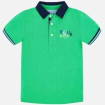 Mayoral Short Sleeved Printed Polo Shirt 3113