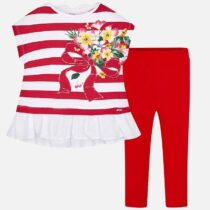 Mayoral Striped T-Shirt and Leggings Set 3704