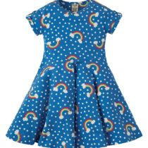 Frugi Rainbow Spring Skater Dress