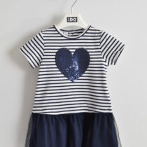 iDo Striped Heart Dress 30300
