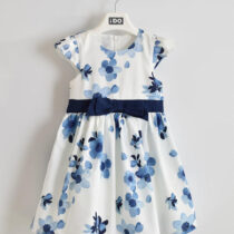 iDo Floral Waist Tie Dress 30400