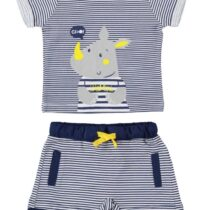 iDo Striped Rhino Top and Shorts Set 61700