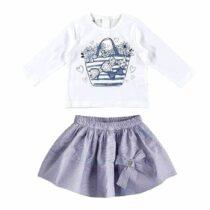 iDo Long Sleeved T-Shirt and Skirt Set 32700