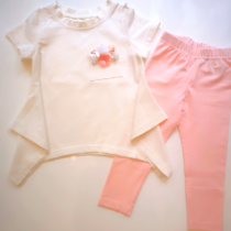 Daga Pink Flower Legging Set