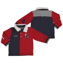 Mayoral Long Sleeve Polo