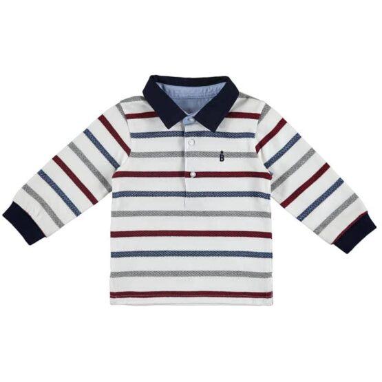 Mayoral Long Sleeve Polo