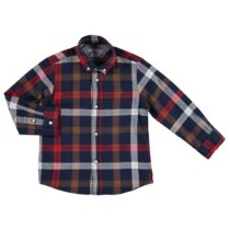Mayoral Blue Check Shirt