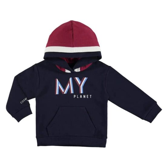Mayoral Planet Hooded Sweatshirt
