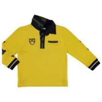 Mayoral Long Sleeve Yellow Polo