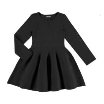 Mayoral Black Long Sleeve Dress