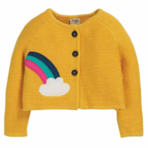Frugi Little Annie Applique Cardigan