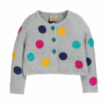 Frugi Emilia Embroidered Cardigan