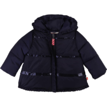 Billieblush Navy Puffer Jacket