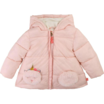 Billieblush Unicorn Pocket Puffer Jacket