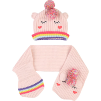 Billieblush Unicorn Hat and Scarf Set