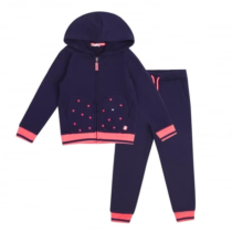 Billieblush Navy and Pink Tracksuit